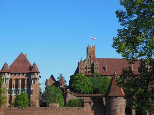 zamek w Malbork