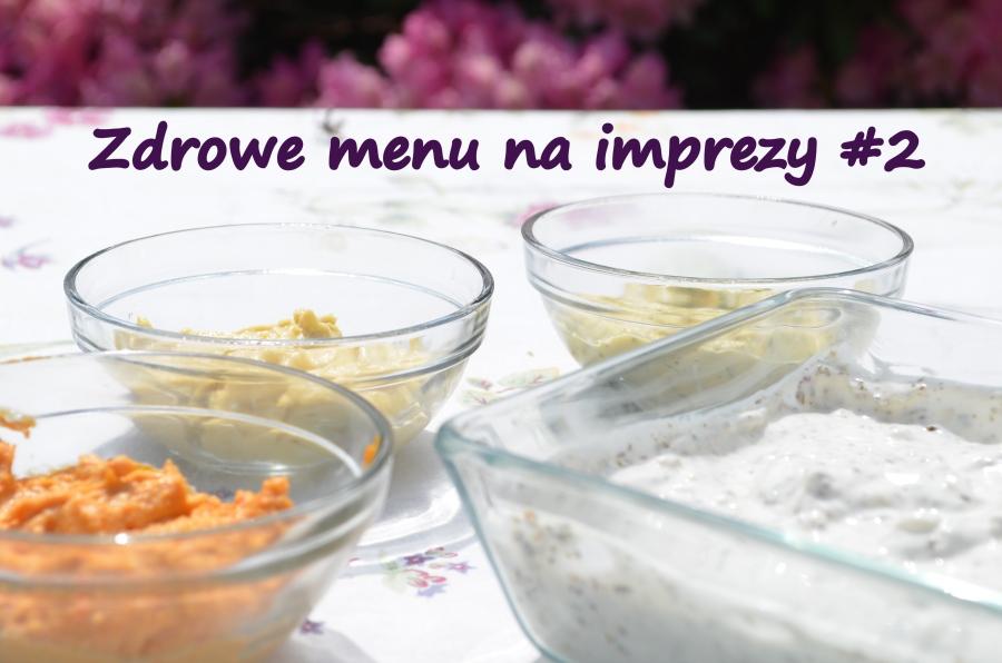 Zdrowe sosy na imprezę