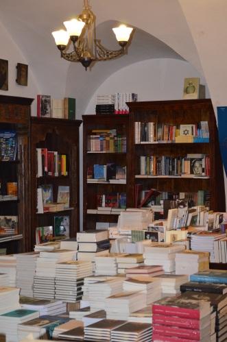 Kraków, Kazimierz, księgarnia