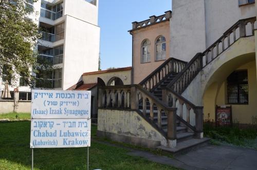 Kazimierz, Kraków, synagoga Izaaka