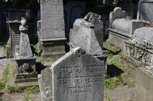 Kazimierz, Kraków, cmentarz żydowski