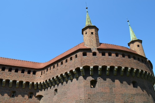 Kraków, Barbakan, zwiedzanie