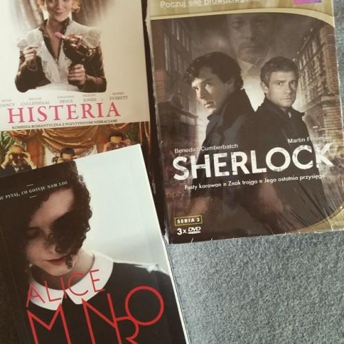 Książkowo-filmowe nowości. Ostatni sezon Sherlocka czeka :D